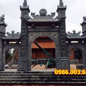 Mẫu Cổng Đá VT-0014