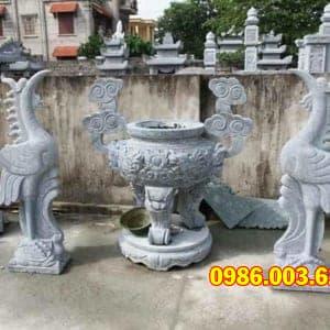 Mẫu Lư Hương Đá VT-0191