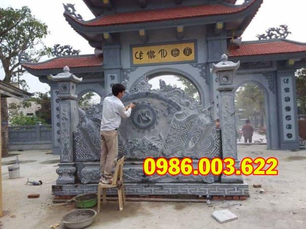 Mẫu Bình Phong Đá VT-0217