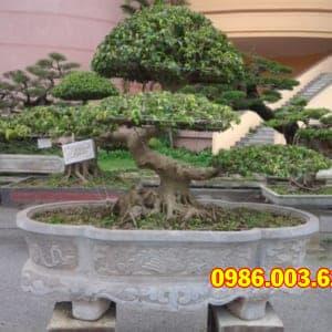 Mẫu Bể, Chậu Cảnh Đá VT-0114