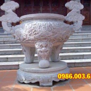 Mẫu Lư Hương Đá VT-0148