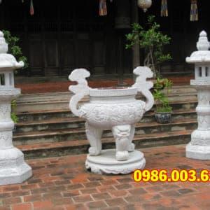 Mẫu Lư Hương Đá VT-0145