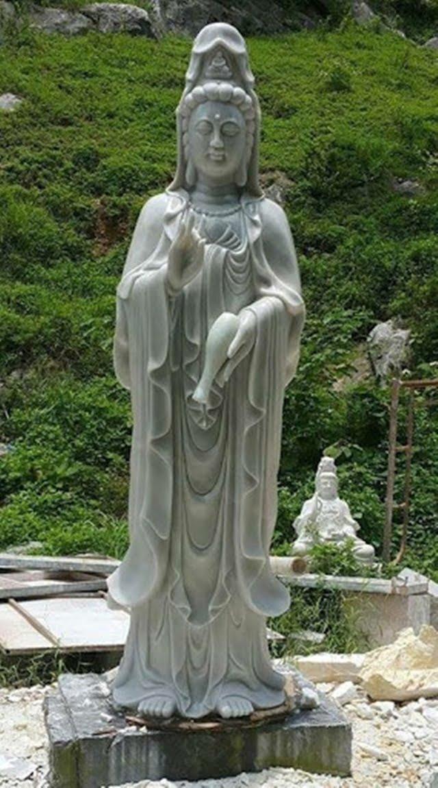 Tượng đá mỹ nghệ Ninh Vân được điêu khắc bởi bàn tay khéo léo của những nghệ nhân lành nghề