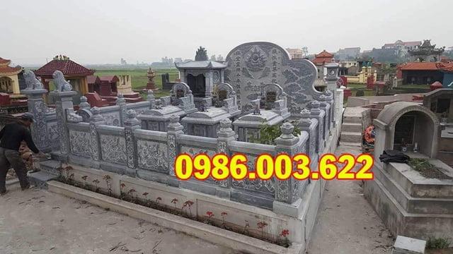 Một khu lăng mộ đẹp do Đá Mỹ Nghệ Cao Cấp Ninh Vân thiết kế