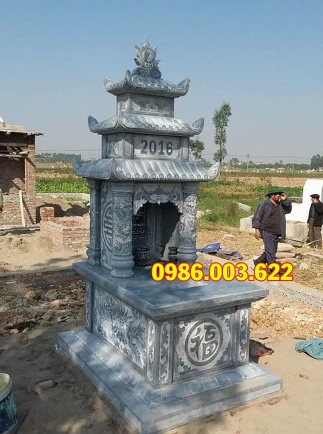 Mẫu mộ ba đao phổ biến