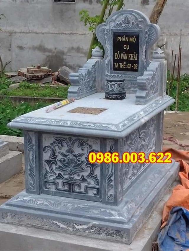 Tùy thuộc vào yêu cầu của khách hàng và đặc điểm không gian khu mộ mà nhà sản xuất cho ra đời mẫu mộ bành có kích thước phù hợp
