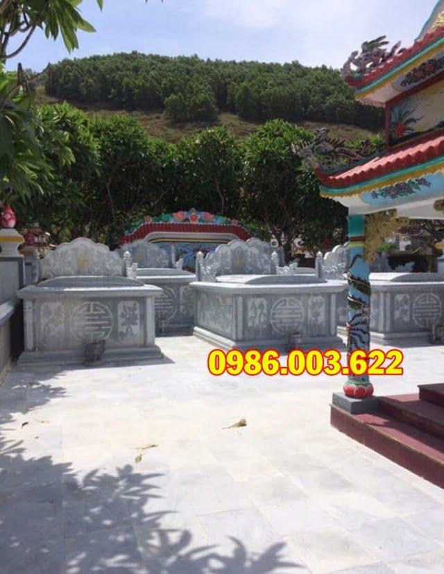 Xưởng đá mỹ nghệ cao cấp Ninh Vân là địa chỉ thiết kế, thi công mộ bành uy tín tại Việt Nam