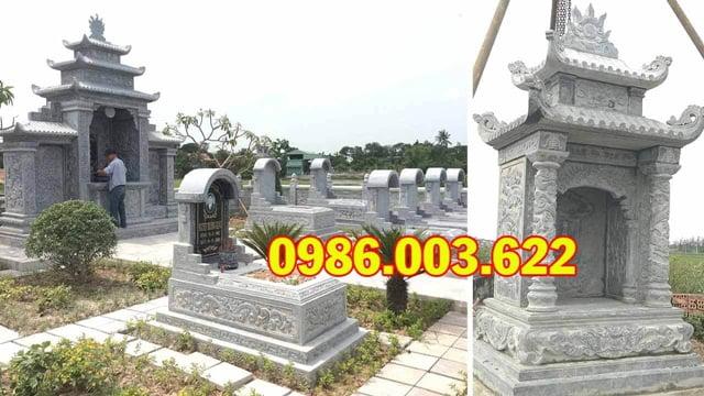 Các mẫu mộ giật cấp, mộ vòm được nhiều khách hàng ưa chuộng