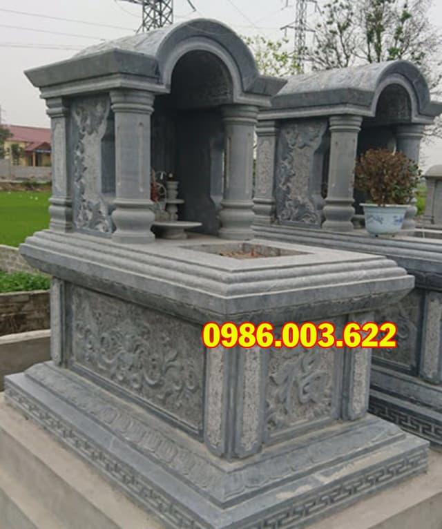 Mẫu mộ giật cấp, mộ vòm đẹp