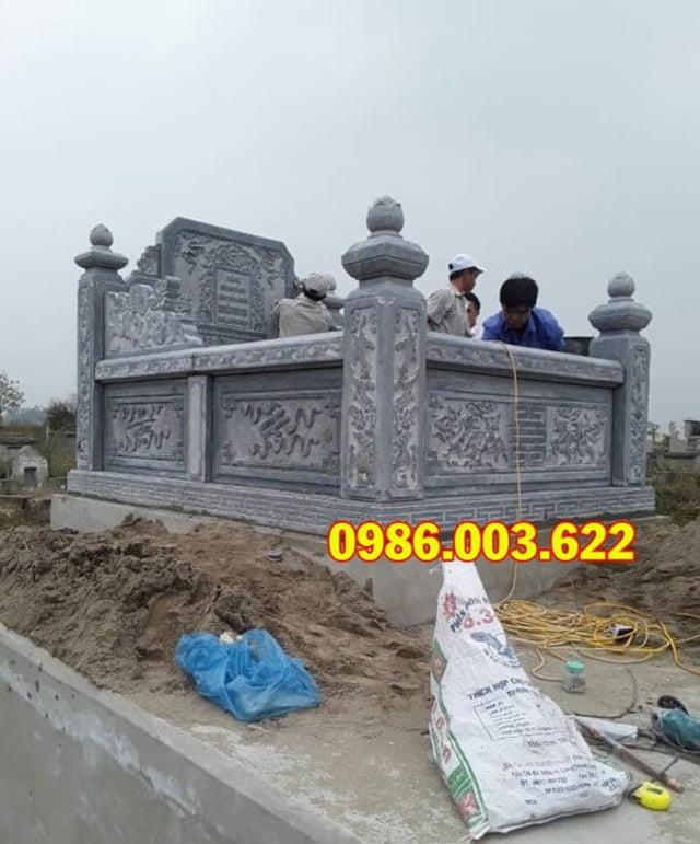 Mẫu mộ đá quây 1